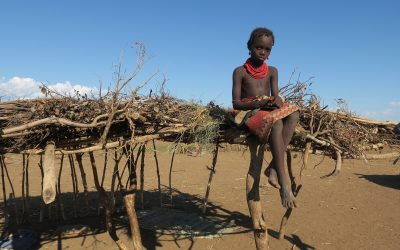 La huida de las tribus indígenas africanas